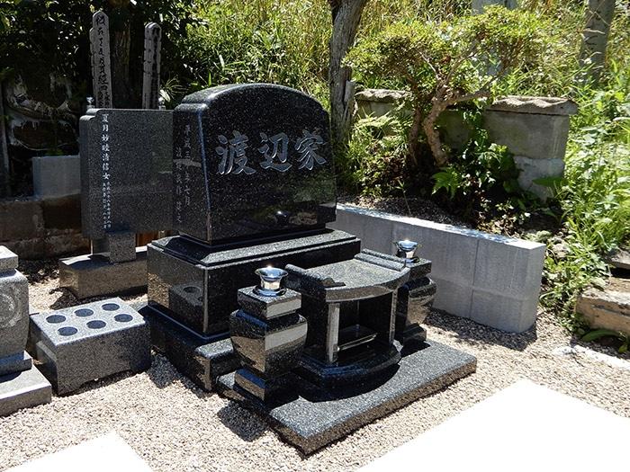 夫婦墓 施工後