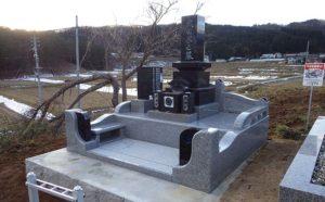 最愛の奥様のお墓建立