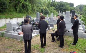品のあるデザイン墓石