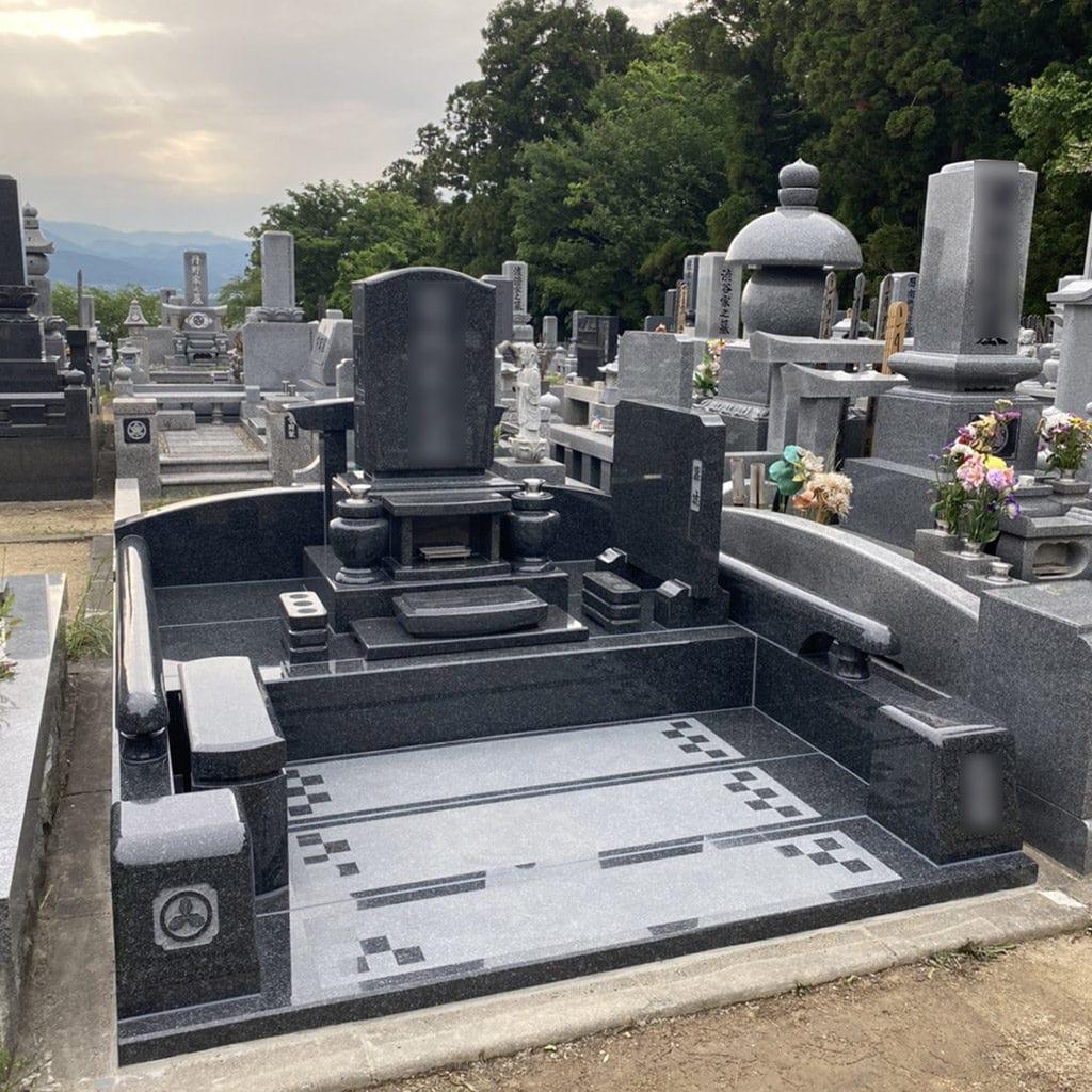 寿陵墓の施工事例